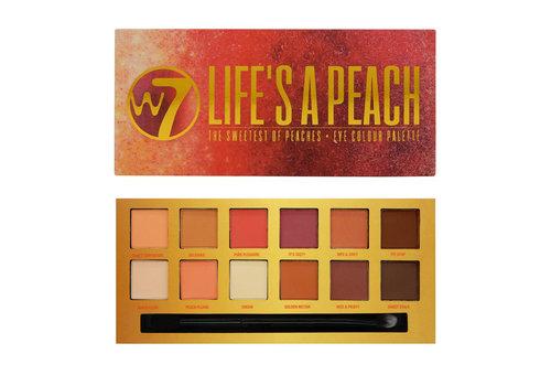 W7 Cosmetics Life's a Peach Palette