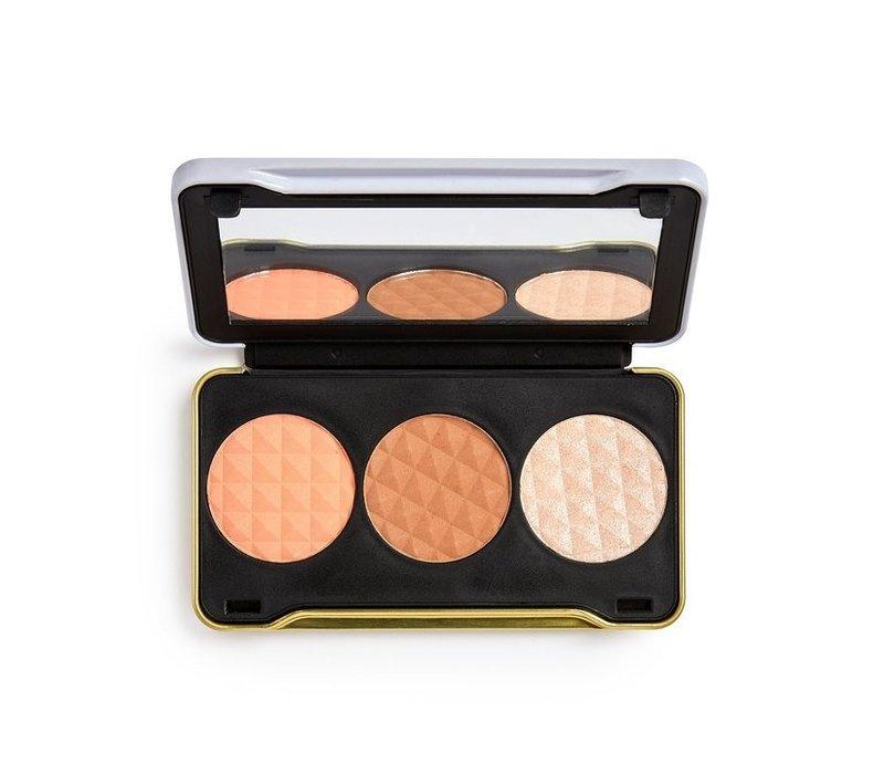 Makeup Revolution X Patricia Bright Face Palette Moonlight Glow