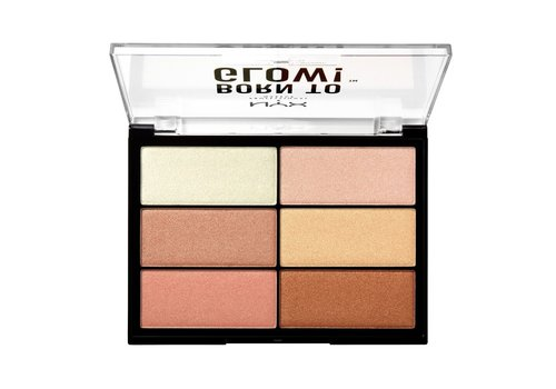 NYX Professional Make Up Born To Glow Highlighting Palette