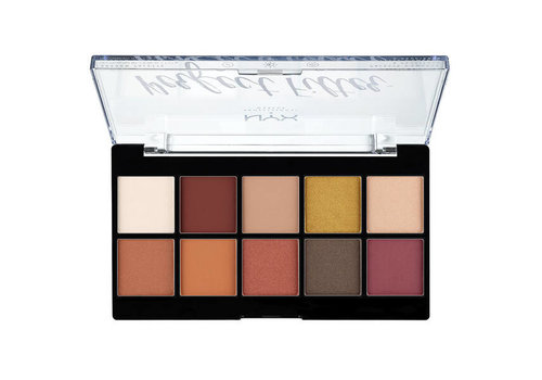NYX Professional Make Up Perfect Filter Shadow Palette Rustic Antique