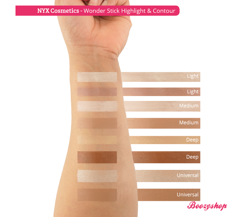 NYX Professional Makeup Wonder Stick Highlight & Contour