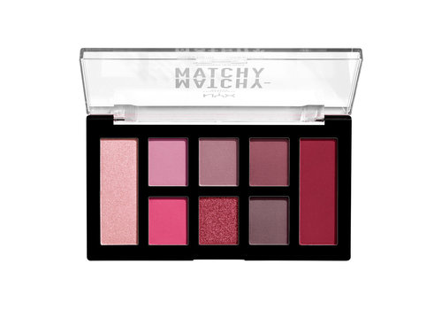 NYX Professional Make Up Matchy Matchy Monochromatic Palette Berry