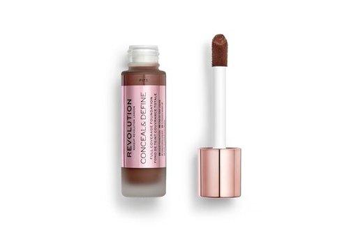 Makeup Revolution Conceal & Define Foundation F17.5