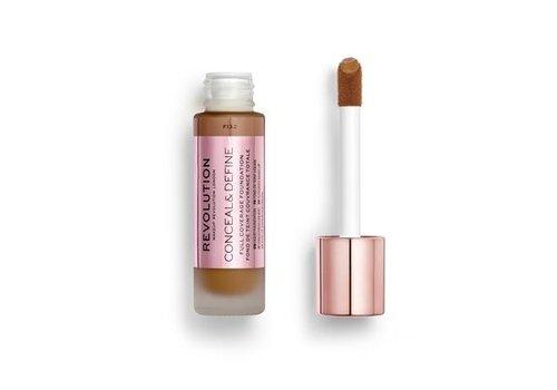 Makeup Revolution Conceal & Define Foundation F13.2