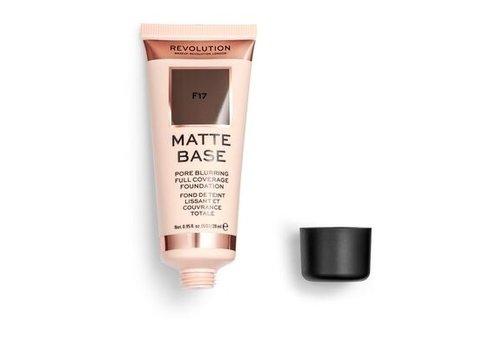 Makeup Revolution Matte Base Foundation F17