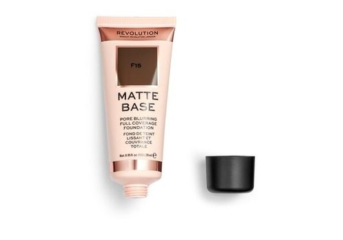 Makeup Revolution Matte Base Foundation F15