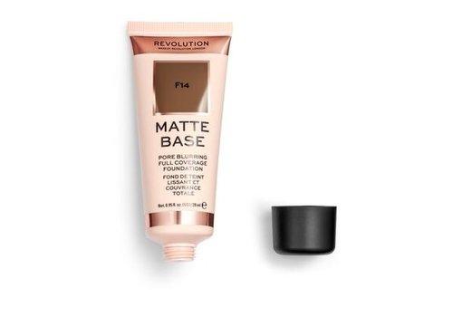 Makeup Revolution Matte Base Foundation F14