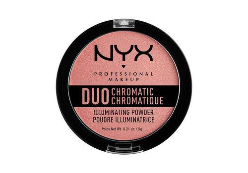 NYX Professional Make Up Duo Chromatic Illuminating Powder Crushed Bloom