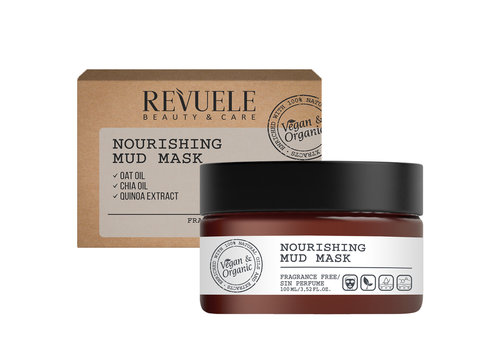 Revuele Vegan & Organic Nourishing Mud Mask