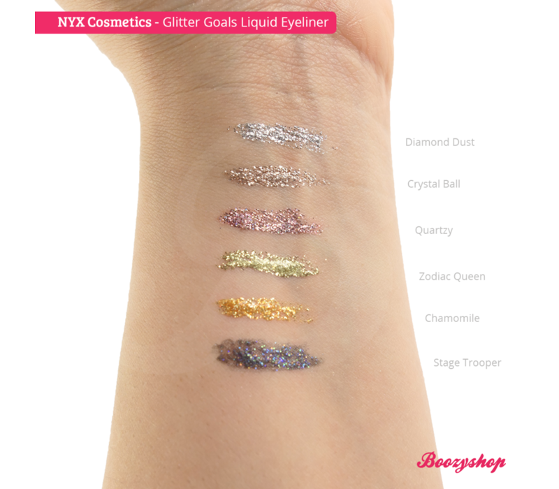 NYX Professional Makeup Glitter Goals Liquid Eyeliner Crystal Ball