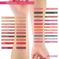 NYX Cosmetics Suede Matte Lipstick Life's a Beach