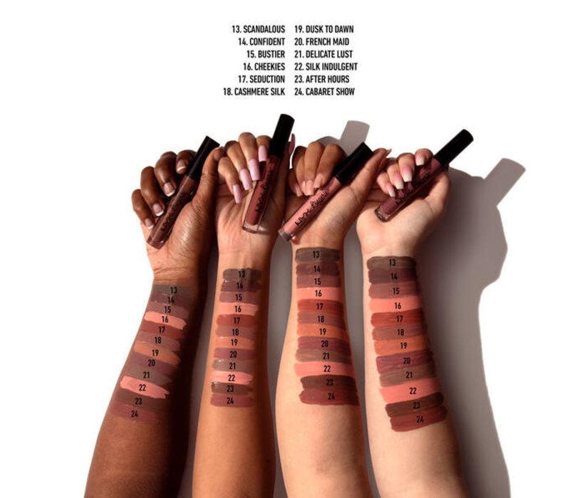 NYX Cosmetics Lip Lingerie Liquid Lipstick Lace Detail