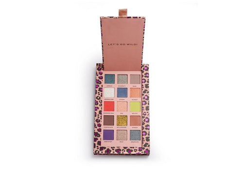 Revolution Pro Nath Collection Let's Go Wild Shadow Palette