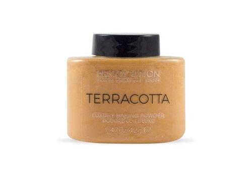 Makeup Revolution Loose Baking Powder Terracotta