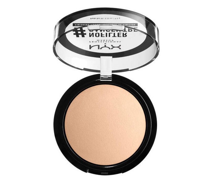 NYX Professional Makeup No Filter Finishing Powder Light Beige