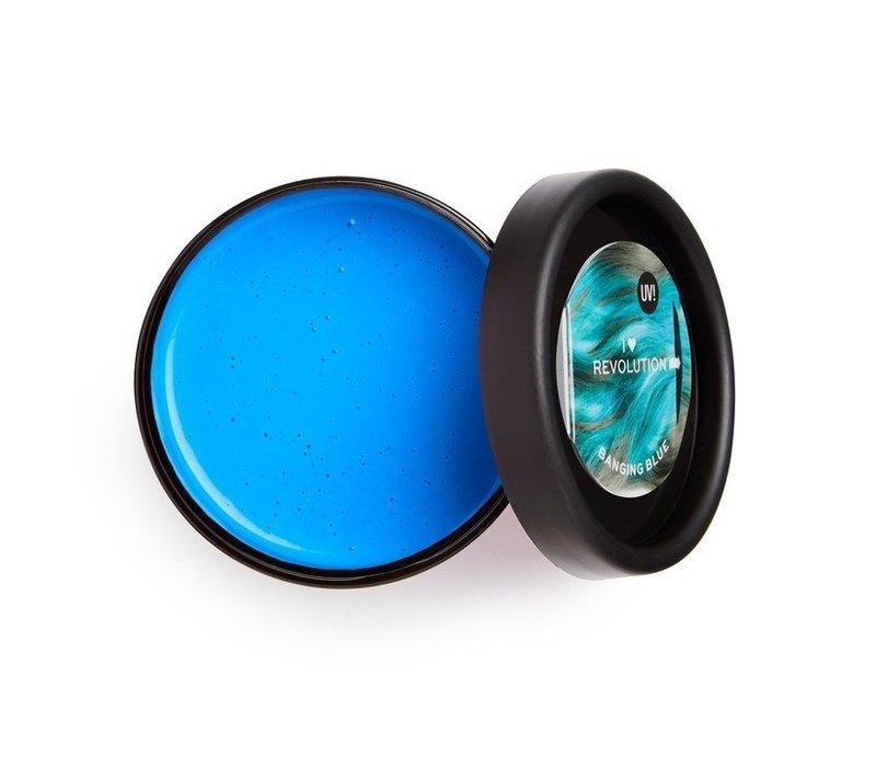 I Heart Revolution UV Neon Hair Make Up Blue