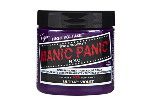 Manic Panic Classic High Voltage Semi-Permanente Haarverf Ultra Violet