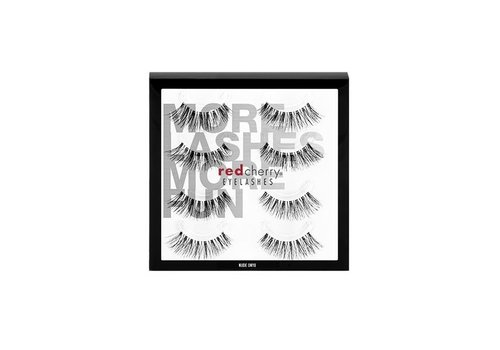 Red Cherry 4Pack Lashes Nude Onyx