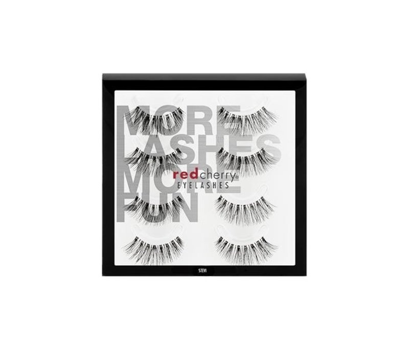 Red Cherry 4Pack Lashes Stevi