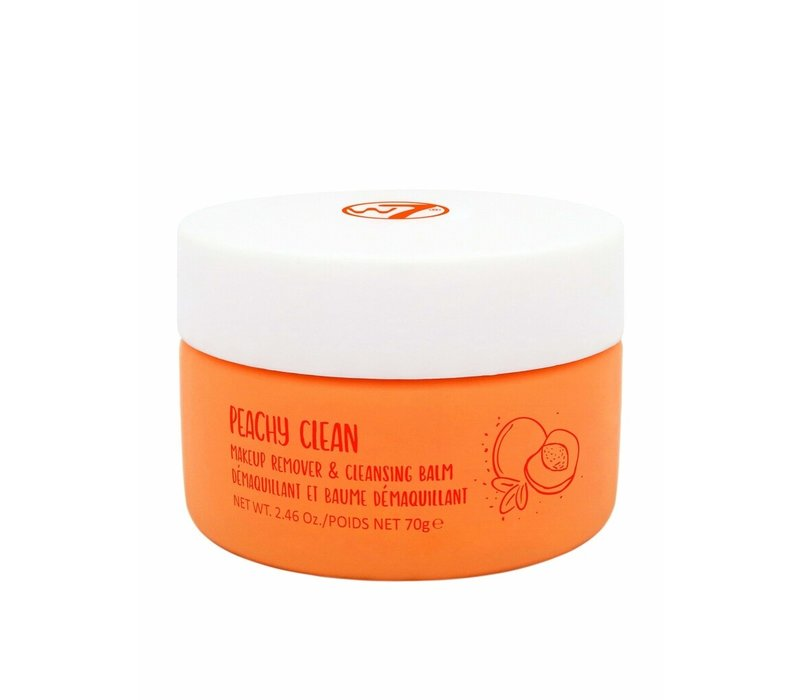 W7 Cosmetics Peachy Clean Makeup Remover & Cleansing Balm