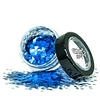 PaintGlow PaintGlow Bio Degradable Chunky Loose Glitter Bluebell
