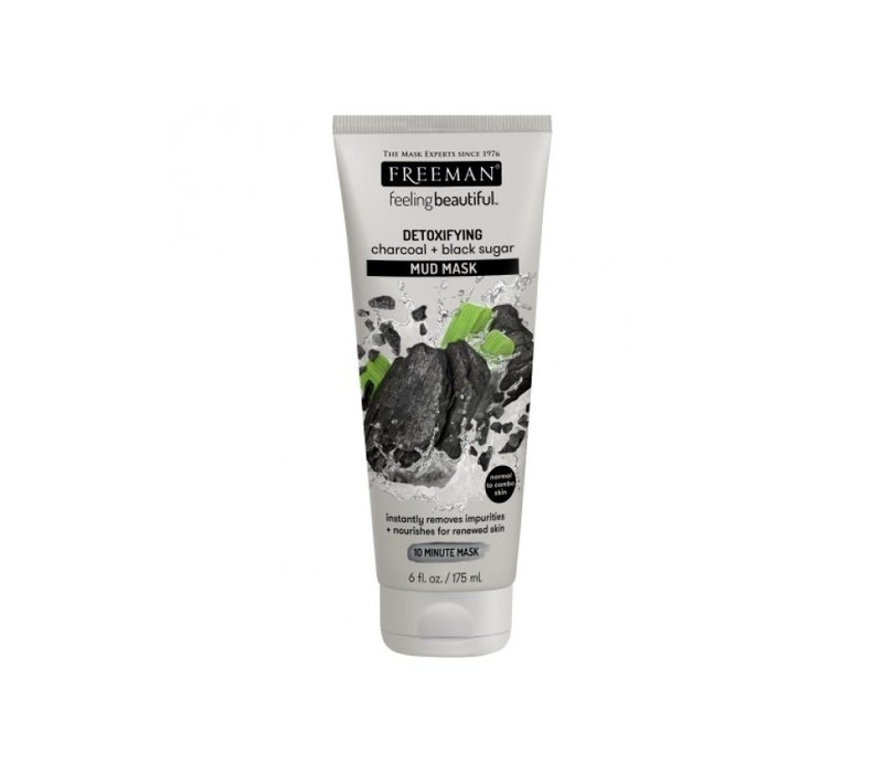Freeman Mud Mask Charcoal and Black Sugar