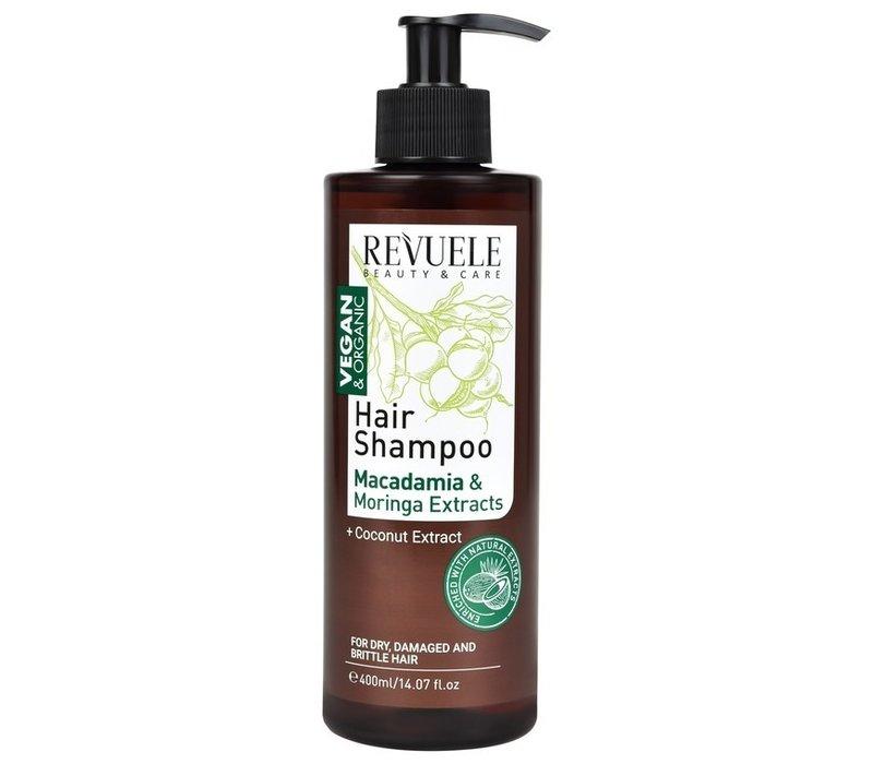 Revuele Hair Shampoo Macadamia & Moringa Extracts