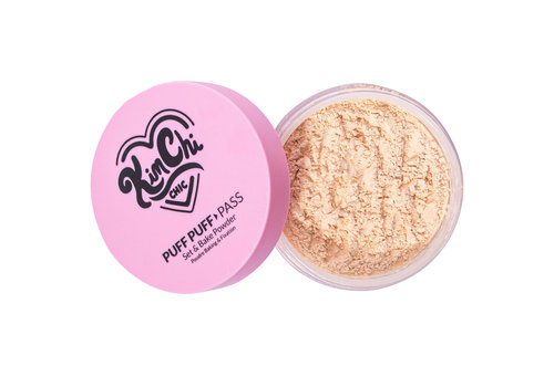 KimChi Chic Beauty Puff Puff Pass Set & Bake Powder Banana