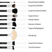 Boozyshop 24 pc Deluxe Makeup Brush Set
