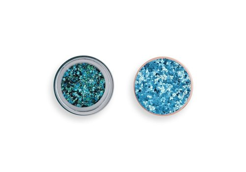 Makeup Revolution Viva Glitter Body Balm Teal Time