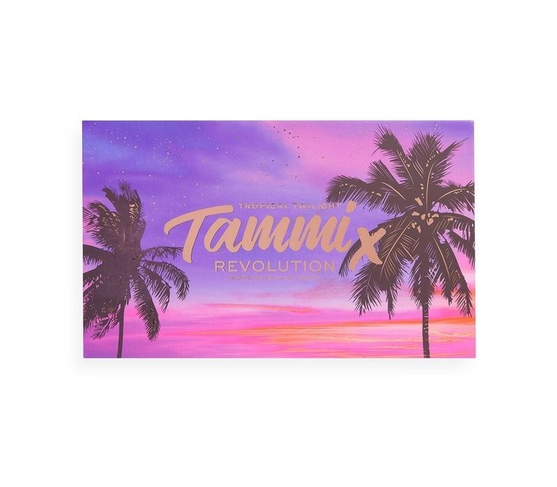 Makeup Revolution x Tammi Tropical Twilight Shadow Palette