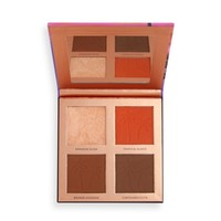 Makeup Revolution Tammi Face Palette Golden Glow Medium Deep