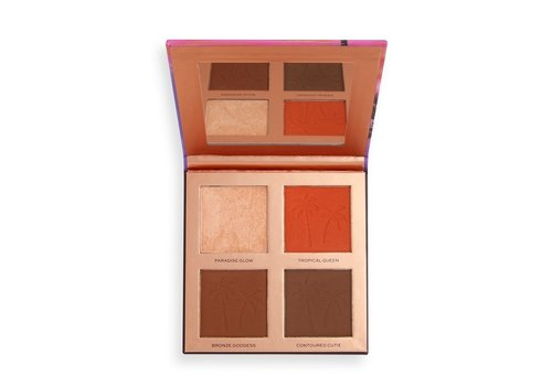 Makeup Revolution Tammi Face Palette Golden Glow Medium Deep