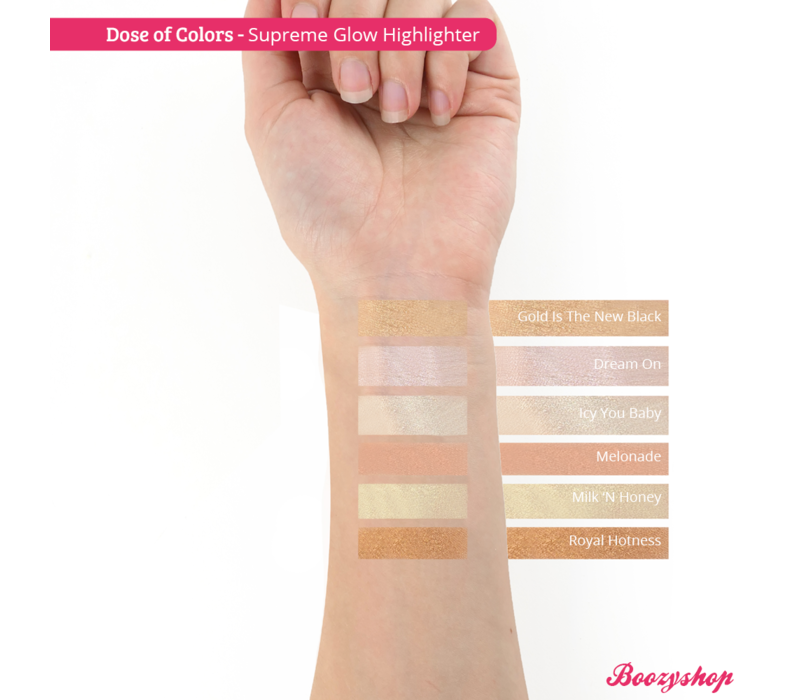 Dose of Colors Supreme Glow Highlighter Royal Hotness