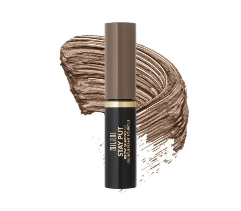 Milani Stay Put Brow Shaping Gel Soft Brunette