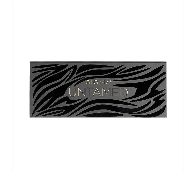 Sigma Untamed Eyeshadow Palette