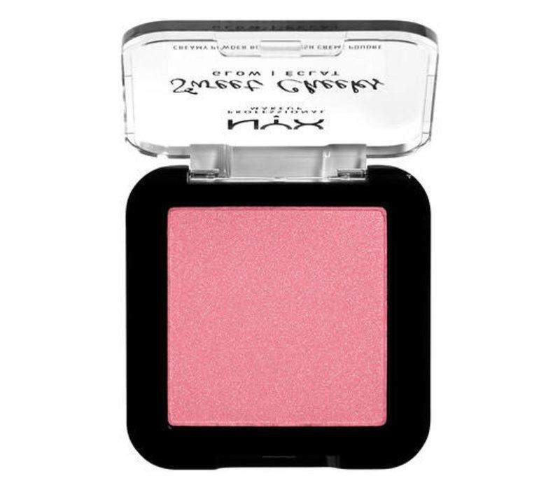 NYX Professional Makeup Sweet Cheeks Creamy Powder Blush Glow Blush Rose & Play