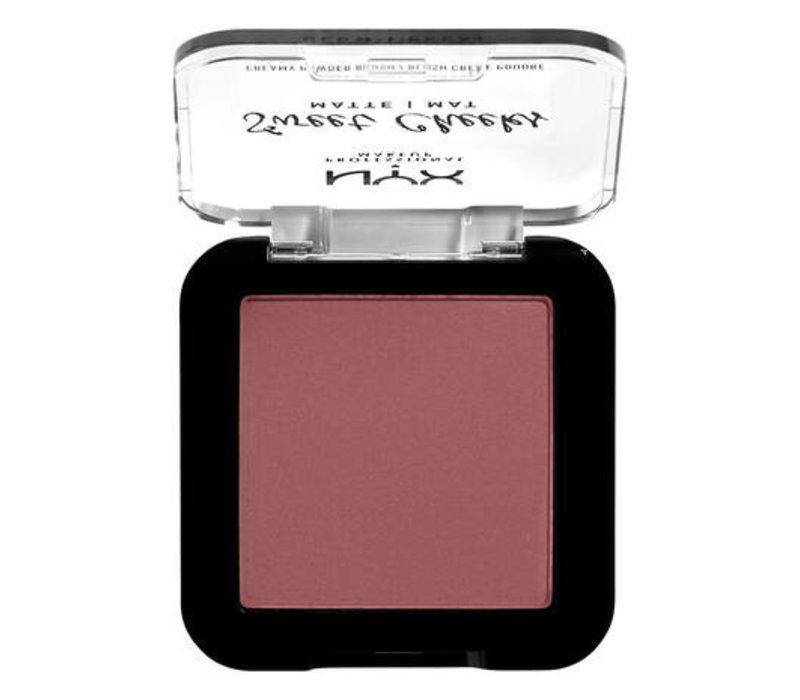 NYX Professional Makeup Sweet Cheeks Creamy Powder Blush Matte Blush Fig