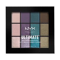 NYX Professional Makeup Ultimate Multi Finish Shadow Palette Smoke Screen