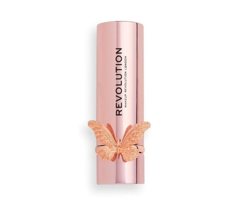 Makeup Revolution Precious Glamour Butterfly Lipstick So Hollywood