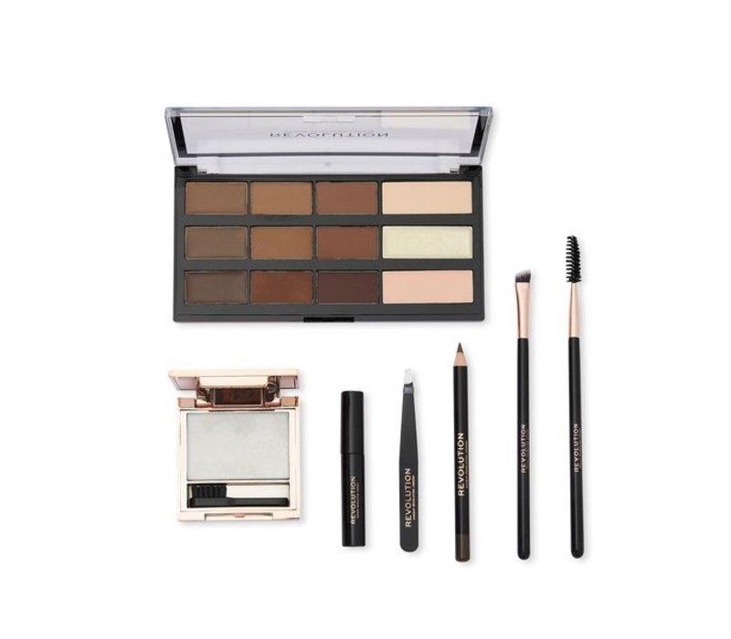 Makeup Revolution Brow The Archer Gift Set