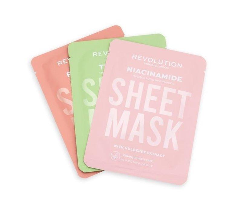 Revolution Skincare Biodegradable Oily Skin Sheet Mask