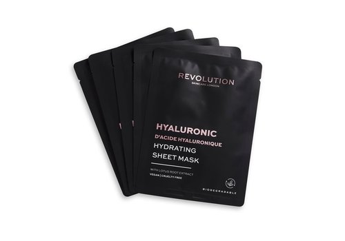 Revolution Skincare Biodegradable Hydrating Hyaluronic Acid Sheet Mask