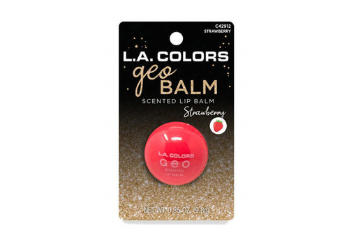 LA Colors Geo Lip Balm Ball Stocking Strawberry Scented