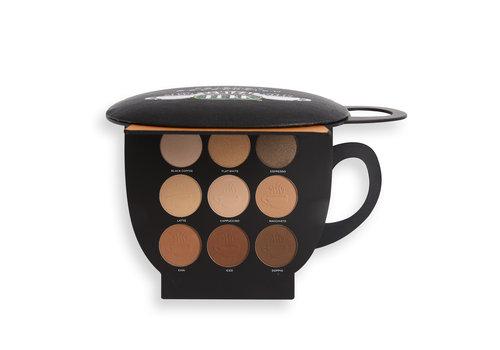 Makeup Revolution x Friends Grab a Cup Face Palette Light to Medium