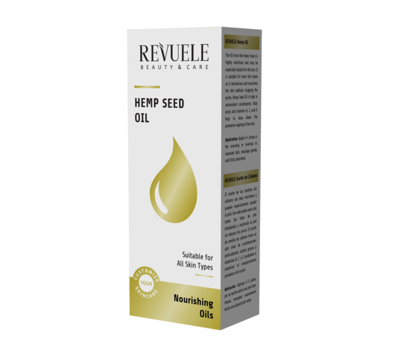 Revuele Hemp Seed Nourishing Oil