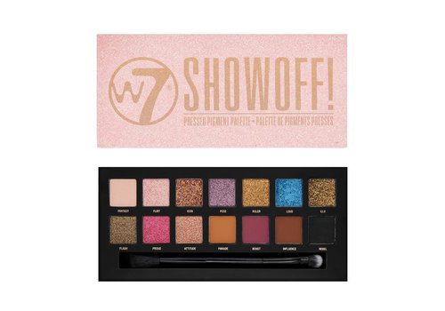 W7 Cosmetics Showoff Eyeshadow Palette