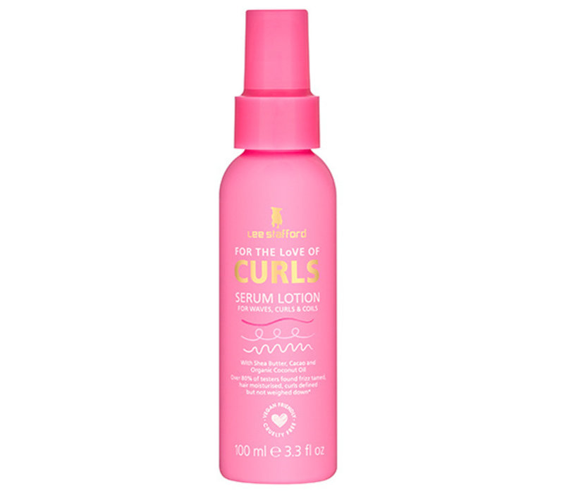 Lee Stafford For The Love Of Curls Serum Lotion
