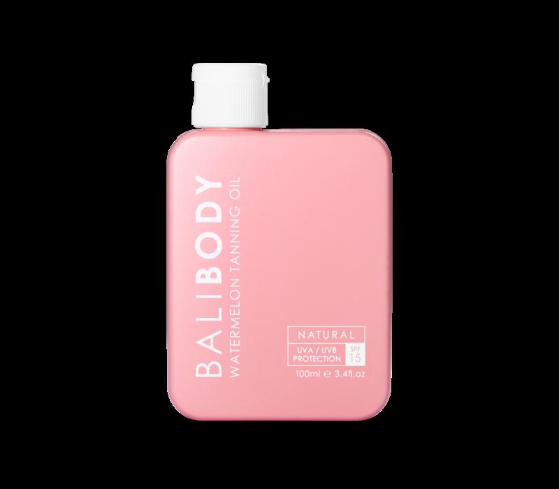 Bali Body Watermelon Tanning Oil SPF15