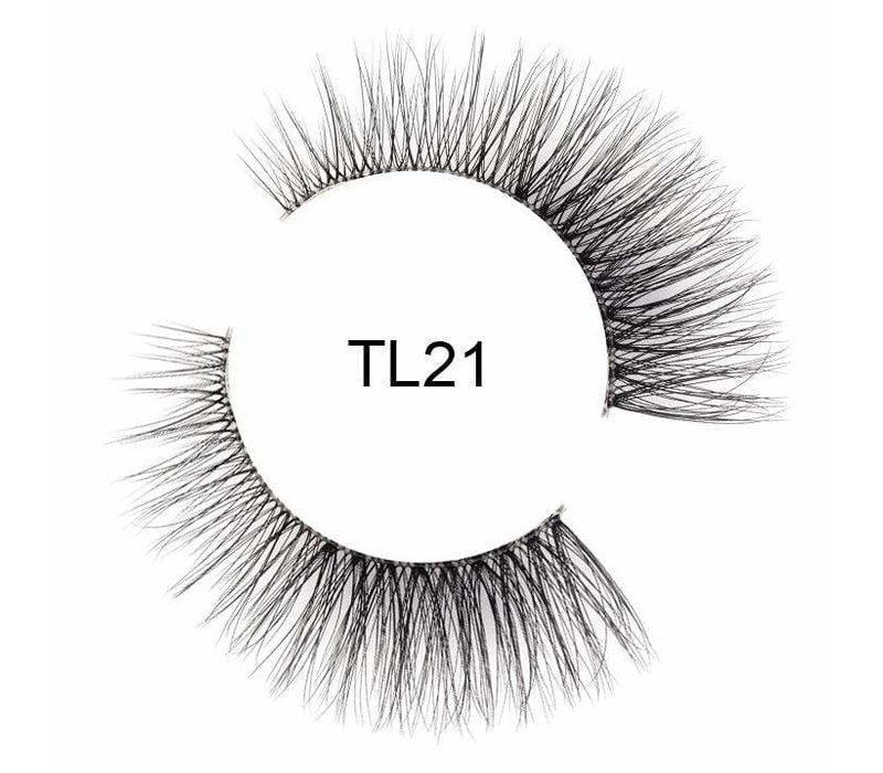 Tatti Lashes 3D Brazilian Silk Hair TL21